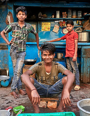 "Calcutta (toshu2011) Tags: india indien hindu hinduism gandhi hindi kolkata calcutta kalkutta west bengal bengali bengalen port city ganges hooghly river ganga megacity ""city joy"" cultural ""east company"" colonial era architecture boy boys jungs kinder buben youth smile happiness happy people teen teenager gente ragazzi twink"