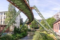 Wuppertaler Schwebebahn (Ralph Apeldoorn) Tags: duitsland germany railway river schwebebahn train tram wupper wuppertalerschwebebahn wuppertal nordrheinwestfalen de