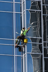 Window Washer (PMillera4) Tags: windowwasher window washer worker