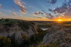 Wind Burn Bright (JeffMoreau) Tags: theodore roosevelt national park north dakota nodak sony a7ii zeiss landscape dusk