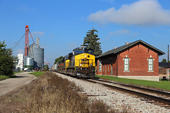 Always shoot the depot (chief_huddleston) Tags: iais iowainterstate 510 stuart iowa ia train railroad ge depot