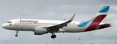 Airbus A-320 D-AEWL (707-348C) Tags: dublinairport dublin dub airliner jetliner airbus ewg eurowings daewl passenger ireland 2018 a320 airbusa320 eidw