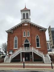 Dexter Avenue Baptist Church, Montgomery AL (Deep Fried Kudzu) Tags: dexter avenue baptist church mlk montgomery alabama