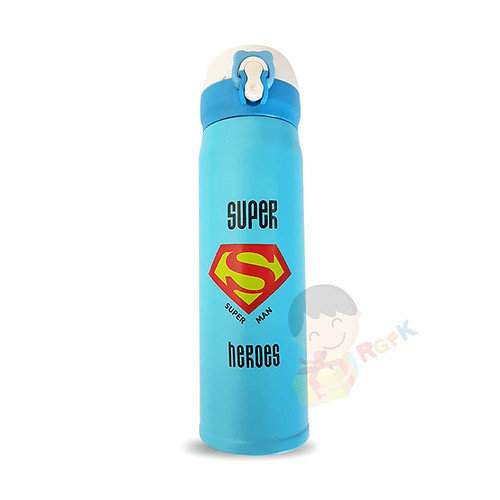 Super Man Thermos Water Bottle