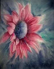 Daisy (benilder) Tags: floral acuarela daisy margarita marguerite fleur aquarelle watercolor watercolour benilde