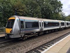 Chiltern 168 219 @Warwick (Kris Davies (megara_rp)) Tags: warwick warwickshire railway stations trains