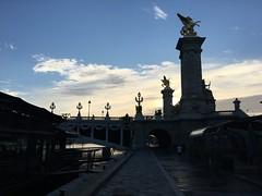 Bridge (the_amanda) Tags: paris france le rive gauche seine river bridge