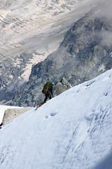 04-Alpiniste (robatmac) Tags: aiguilledumidi france hautesavoie montagne