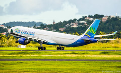 Take off in progress... (Maxime C-M ✈) Tags: airplane caribbean island passion colors exotic coconut beautiful travel world martinique paris aviation discover antilles church city