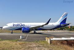 F-WWBE Airbus A320 Neo Indigo (@Eurospot) Tags: vtizc fwwbe airbus a320 indigo neo toulouse blagnac