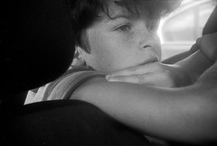 Nino songeur (franckbihannic) Tags: child portrait focasport ilford xp2 35mm pellicule analogique argentique analog film filmisnotdead