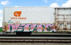 (gordon gekkoh) Tags: deface freight graffiti