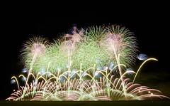 第28回赤川花火大会 The 28th Akagawa Fireworks Festival (ELCAN KE-7A) Tags: 日本 japan 山形 yamagata 庄内 shonai 鶴岡 tsuruoka 赤川 aka river 花火 fireworks ペンタックス pentax k3ⅱ 2018