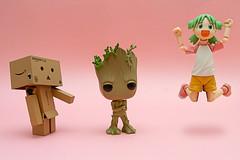 Je s'appelle Groot (Xtophe68) Tags: funko funkopop groot yotsuba danbo