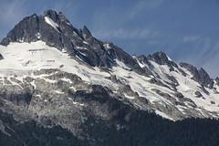 5IMG3418 Tsilxwm (Glenn Gilbert) Tags: landscape britishcolumbia canada snow glacier sky mountain crag ridge horizontal canon forest pine cedar tree