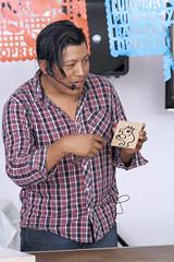 MX MR TALLER DE GRABADO (Secretaría de Cultura CDMX) Tags: fiesta culturas indigenas pueblos barrios originaros fci taller grabado lengua filogoniovelasconaxin cristalmora