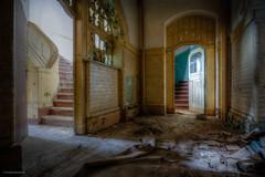 Which door should I go through? (Foto_Fix_Automat) Tags: urbex urbanexploring explore hospital sanatorium abandoned abandonedplaces decay marode indoor eastgermany