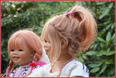 Sanrike und Tivi ... (Kindergartenkinder 2018) Tags: annette himstedt dolls kindergartenkinder sanrike tivi