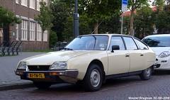 Citroën CX Reflex 1979 (XBXG) Tags: 81tntl citroën cx reflex 1979 citroëncx santpoorterplein haarlem beige nederland holland netherlands paysbas vintage old classic french car auto automobile voiture ancienne française vehicle outdoor