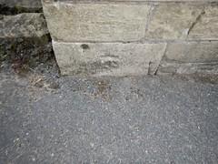Cut Mark: Edwinstowe, St Mary's Church Porch (Dugswell2) Tags: cutmark stmaryschurch edwinstowe stmaryschurchporch