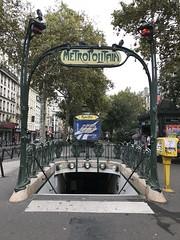 typisch Paris IV (Berliner1963) Tags: stphotographia blanche metroolitain art kunst artnouveau jugendstil metro ubahn paris france frankreich