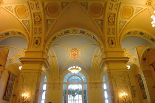 Nashville Tennessee  - Hermitage Hotel - Historic Hotel - Lobby Area