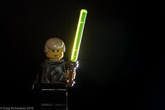Day 7 - Lego and Star Wars (Craig Richardson) Tags: d750 lego lightsabre luke minifigure skywalker toy