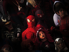 Think Different (Paul Ocejo) Tags: dragon con 2018 spiderman spider man venom carnage spidergwen miles morales ultimate peter parker convention cosplay costume paul ocejo