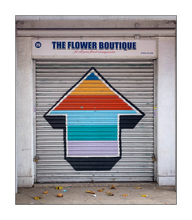 Street Art (Tavar Zawacki formerly Above), East London, England.