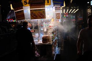 Steaming Pretzel