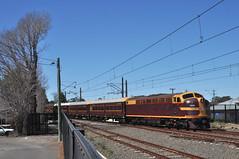 Richmond arrival, another LVR shuttle (highplains68) Tags: aus australia nsw newsouthwales richmondline 42103 4204 lachlanvalleyrailway shuttles tour