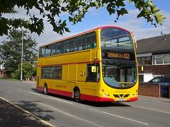 Midland Classic 45 Lichfield (Guy Arab UF) Tags: midland classic 45 lj53bgo daf db250 wright pulsar gemini lichfield bus station staffordshire buses arriva london dw28