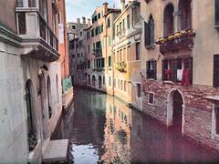 Narrow Canal Venice (saxonfenken) Tags: 36italy 36 lightandshadow anal venice italy reflection houses pregamewinner friendlychallenges