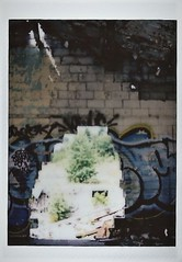Hole In The Wall (Wawa Duane) Tags: fuji camera instax mini 8 instant wawa ontario canada agawa pictographs love bot