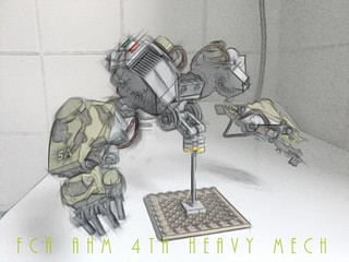 Research & Development the FCA AHM 4th Heavy Mech