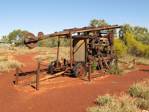 Old Millstream HS machinery
