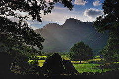 Framing the Langdales (images@twiston) Tags: langdale boulders chapelstile greatlangdale fell pikes summer evening silhouette silhouetted cumbria lakedistrict lakeland thelakes lakedistrictnationalpark nationaltrust fells cumbrian northwestengland mountains landscape imagestwiston district national park countryside mountain englishlakedistrict lakes thelakedistrict unesco worldheritagesite