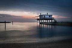capanno milano marittima (FiloAlessia) Tags: sea mare romagna milano marittima capanno alba sunrise spiaggia ngc
