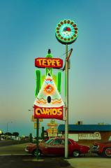 Tepee Curios (dangr.dave) Tags: neon neonsign downtown historic architecture tucumcari nm newmexico quaycounty route66 teepeecurios tepeecurios