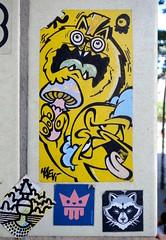 - (txmx 2) Tags: hamburg streetart superfatcat sfc haevi kingdrips