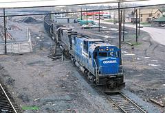 CR 6761                       4-79 (C E Turley) Tags: railway conrail cr alco c630 c628