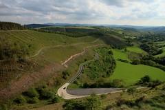 Sugar Loaf Halt (RoystonVasey) Tags: canon eos m wales remote hills moorland valley sugar loaf