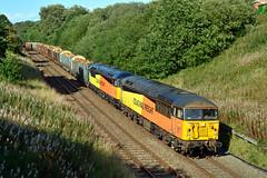56113 56090 6J37 Brownhill (British Rail 1980s and 1990s) Tags: colas railfreight freight diesel br britishrail type5 grid 56 class56 train rail railway loco locomotive lmr londonmidlandregion mainline lancs lancashire livery liveried traction