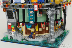 Expanding Ninjago City (Brick.Ninja) Tags: lego ninjago city creation build cyber punk