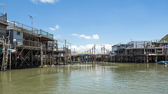 Water Houses (syf22) Tags: fishing village stilt wooden house living accommodation home water watercourse building tanka community fisher structure bridge woodenbridge drawbridge crossing over