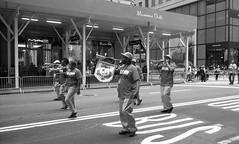 Labor Day Parade 2018 (triebensee) Tags: leica m3 leitz summaron 35mm f28 fomapan100 kodakhc110 dilutionh epsonv700 film rangefinder blackandwhite selfdeveloped