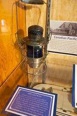 Antique Canadian Pacific Railways lantern (quinet) Tags: 2017 antik canada mapleridge ancien antique museum musée vancouver britishcolumbia 124