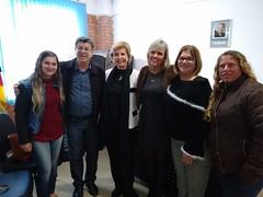 13/09/18 - Visita a Prefeitura e ao Parque Eólico de Chuí. Com o deputado Adilson Troca, a vereadora Patrícia Vasquez, a vice-prefeita Valda Ferreira e lideranças regionais.