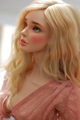 Yolande by Amadiz Beauty (stashraider) Tags: yolande amadiz beauty ginarolo glass eyes peach cream skintone resin ball jointed doll georgy kate ramensky