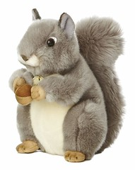 Grey Squirrel Plush Toy (mywowstuff) Tags: gifts gift ideas gadgets geeky products men women family home office